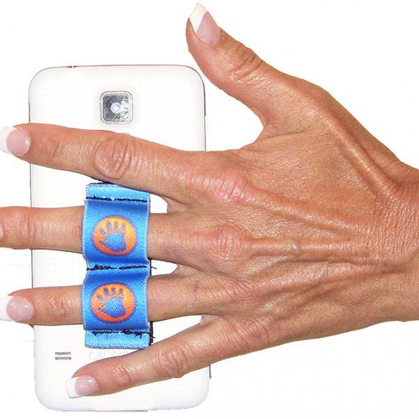LAZY-HANDS Blue Phone Grip