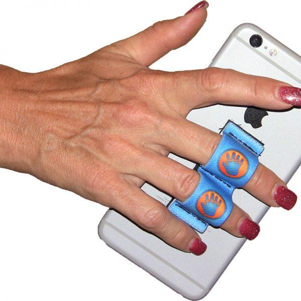 2 Loop Grip - LAZY-HANDS Blue