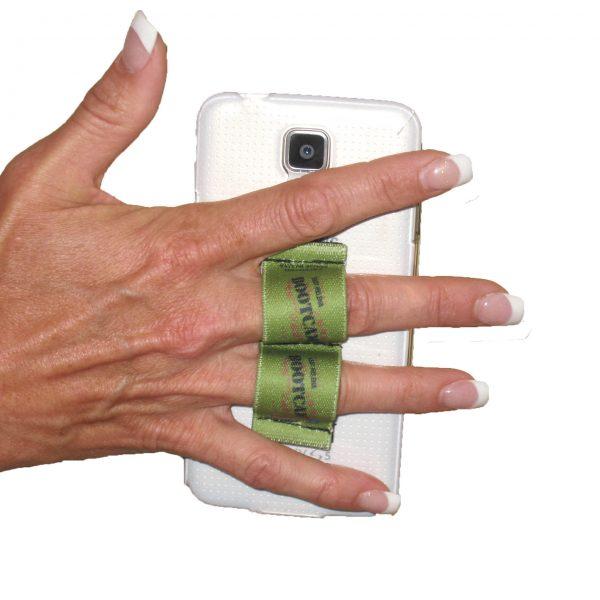 2-Loop Phone Grip - Ramies Bootcamp green