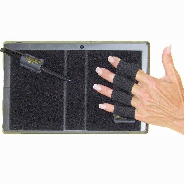 Heavy Duty 4-Loop Surface Grip (x1) with Stylus Grip - Black