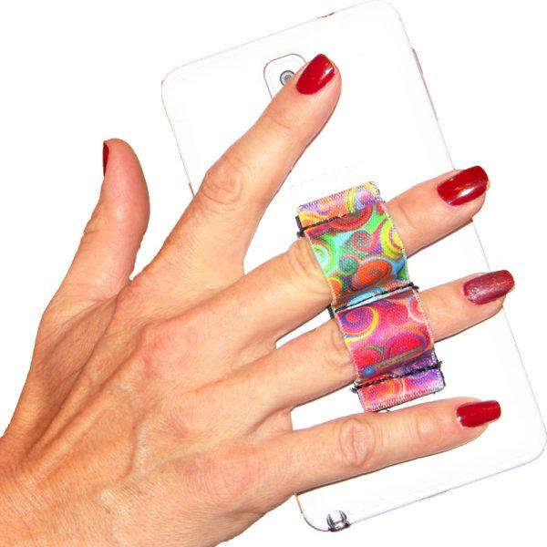 Swirls 2-Loop Phone Grip