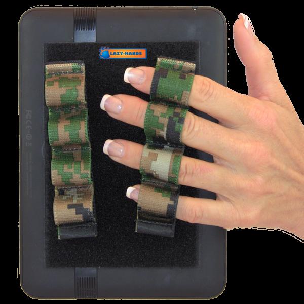 4 Loop Tablet or Reader Grips (x2) - Camouflage