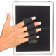 Heavy Duty 4-Loop Grip for iPad or Large Tablet - Black