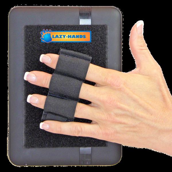 Heavy Duty 3-Loop Tablet Grip - Black
