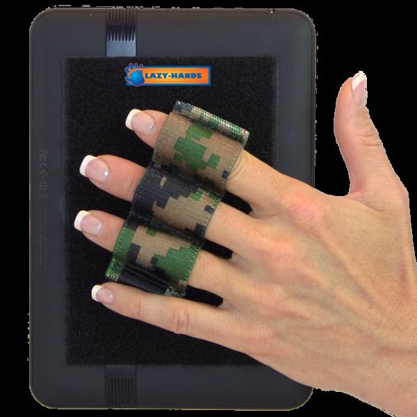 Heavy Duty 3-Loop Tablet Grip - Camouflage