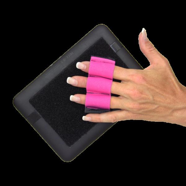Heavy Duty 3-Loop Tablet Grip - Pink