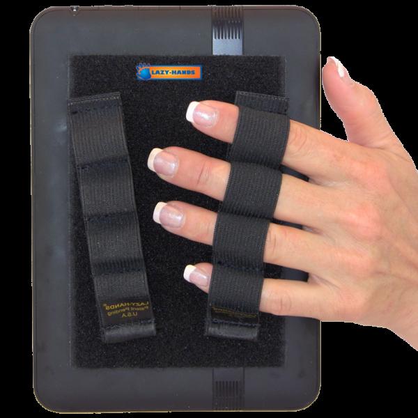 4 Loop Tablet or Reader Grips (x2) - Black