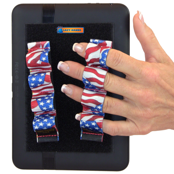 4 Loop Tablet or Reader Grips (x2) - Flags