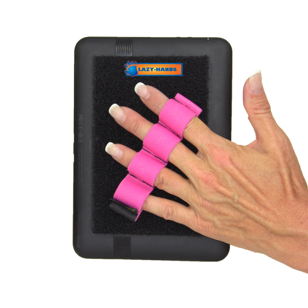 4 Loop Tablet and Reader Grip - Pink