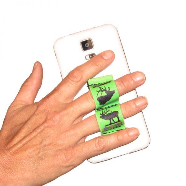 2-Loop Phone Grip - Estes Park Elk Green