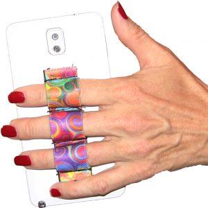 3-Loop Phone Grip - Swirls