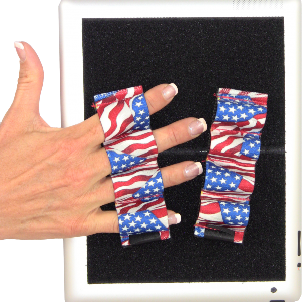 Heavy-Duty 4-Loop Grips (x2) for iPad and Large Tablets
